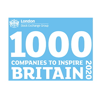 Award 1000 companies to inspire britain 2020